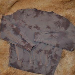 lululemon tie dye sweatshirt